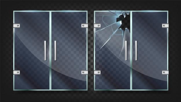 How to prevent shower door from shattering